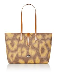 Vivienne Westwood Toulon brown large tote bag