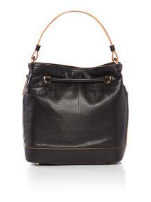 Coccinelle Jessie black bucket bag
