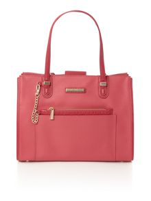 Tommy Hilfiger Amelie pink medium tote bag