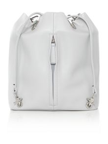 Fiorelli Callie grey medium drawstring backpack