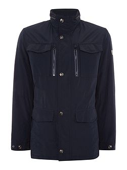 4 Pocket Zip Up Coat