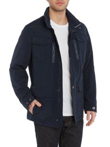 Bugatti 4 Pocket Zip Up Coat