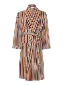 Paul Smith London Multistripe terry robe