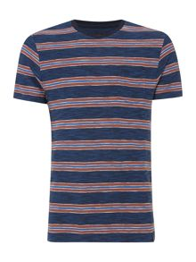 Criminal Howard Stripe Tshirt
