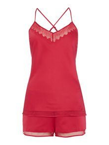 Calvin Klein CK cami and short gift set