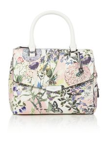 Mia multi coloured medium grab tote bag