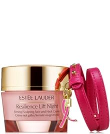 Resilience Lift Night Crème- Pink Ribbon Bracelet