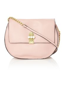 Huxley pink small cross body bag