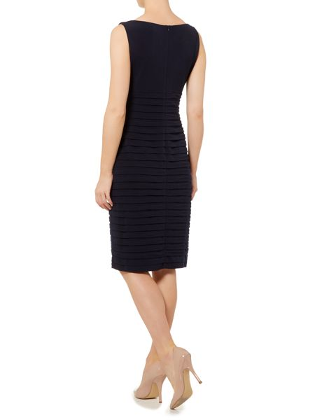 Linea Cowl neck detail shutter dress