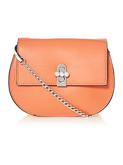 Huxley multi coloured small cross body bag