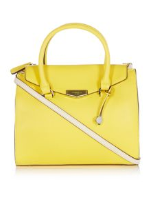 Fiorelli Conner yellow medium tote bag