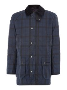 Barbour Tartan hemming coat