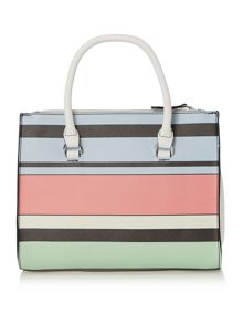 Fiorelli Conner multi coloured medium grab tote bag