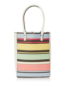 Fiorelli Trixie multi coloured large tote bag