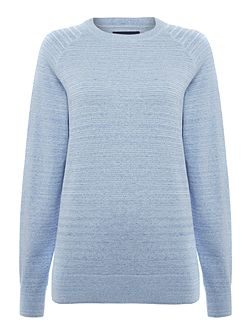 Egan Space Dye Crew Neck Jumper