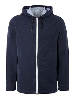 Kane Hooded Mid Length Coat