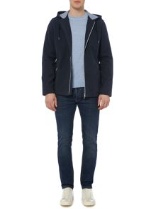 Criminal Kane Hooded Mid Length Coat