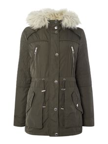 Premium Parka with Fur Hood and Lining