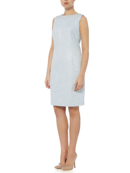 Linea Grace jacquard shift dress