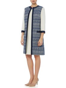Linea Made in Britain isla tweed lady coat