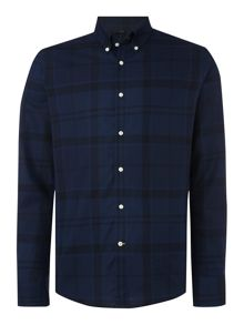Barbour Overdyed Check Long Sleeve Shirt