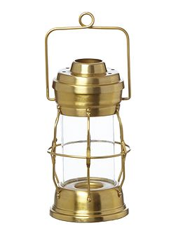 Gas Lamp Candle Holder
