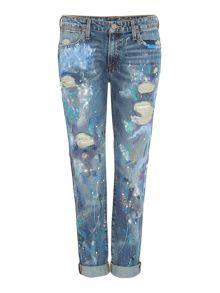 Polo Ralph Lauren Astor painted jeans