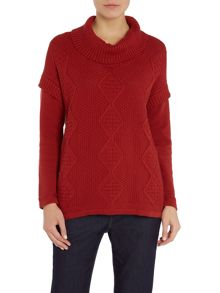 BRAINTREE High neck long sleeve jumper