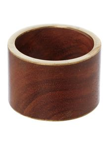 Linea Amazon Napkin Ring Set Of 4