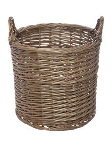 Gray & Willow Ingrid weave basket, medium