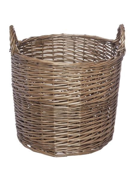 Gray & Willow Ingrid weave basket, large