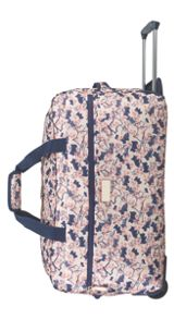 Cherry blossom dog 2 wheel large duffle