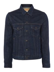 Denim and Supply Ralph Lauren Button Down Denim Trucker Jacket