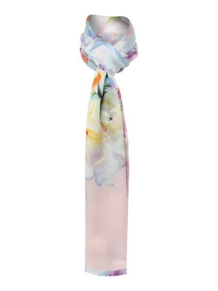 Ted Baker Tracie hanging garden silk long scarf