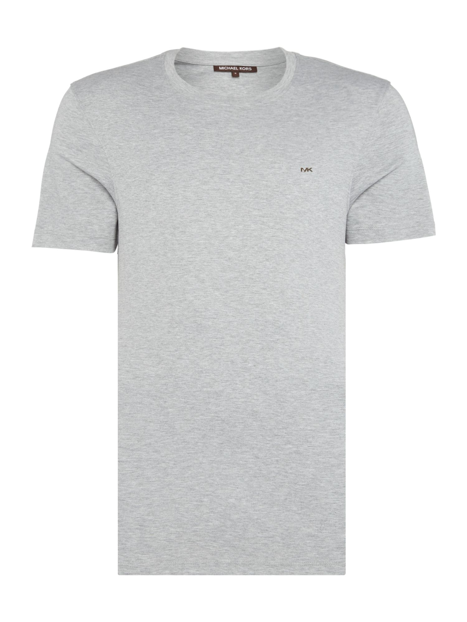 Men's Michael Kors Regular fit sleek MK logo t shirt, Light Grey