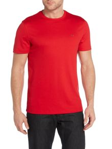 Regular fit sleek MK logo t shirt