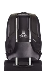 City scape tech laptop backpack