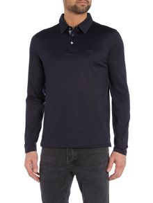 Hugo Boss Pressler Regular Fit Long Sleeve Polo
