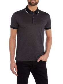 Hugo Boss Pierson 01 Regular Fit Mercerised Stripe Polo