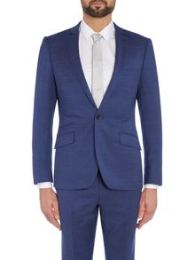 Julian SB1 Slim Fit Pindot Suit Jacket