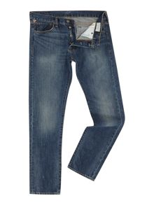 Foster slim fit mid wash jean