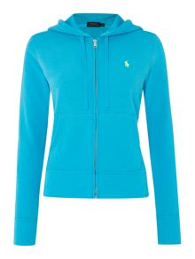 Polo Ralph Lauren Martine zip up hooded top