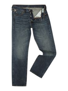 Denim and Supply Ralph Lauren Commey slim fit mid wash jean