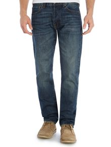 Commey slim fit mid wash jean