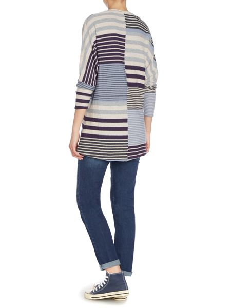 BRAINTREE Striped knitted tunic