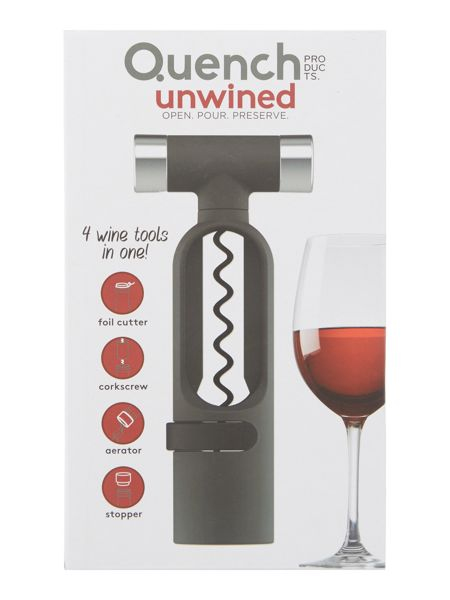 Root 7 Quench unwined corkscrew and aerator