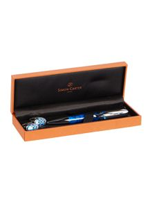 Cycloid cufflinks and pen set