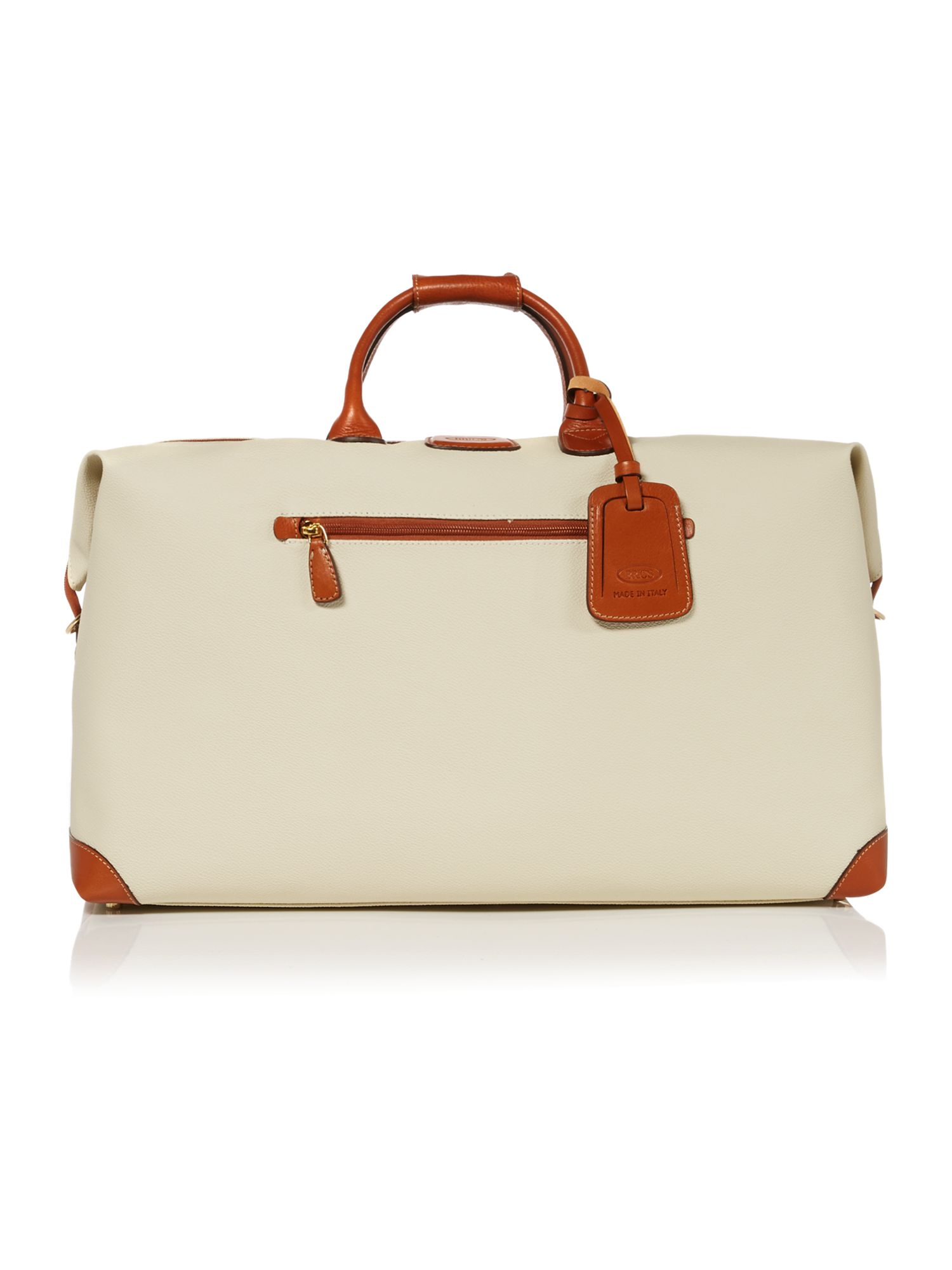 Brics Firenze medium holdall, Cream