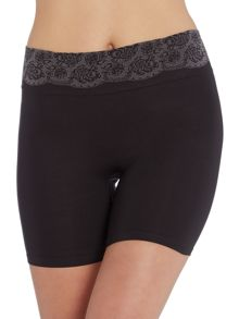 Peek out shpaers seamless shorty