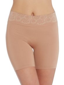 Peek out shapers seamless shorty